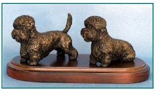 Dandie Dinmont Terrier - Small Pair