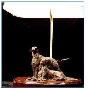 English Setter - Medium Pair Lamp