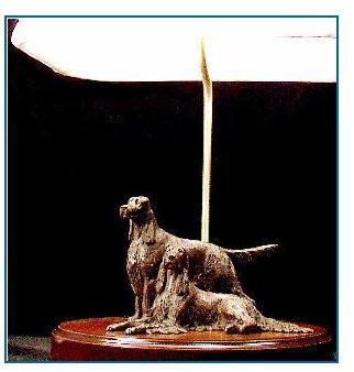 English Setter - Medium Pair Lamp