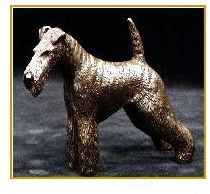 Fox Terrier Wire - Small Standing