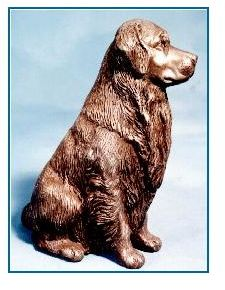 Golden Retriever Dog - Large Sitting