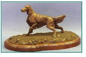 Gordon Setter Dog - Small Flushing