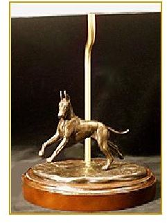 Great Dane Dog - Lamp