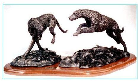 Irish Wolfhound Dog - Tag