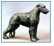 Irish Wolfhound Dog - Small Standing