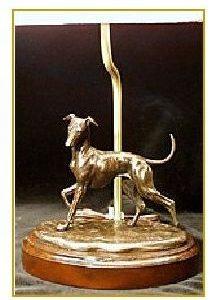 Italian Greyhound Dog - Desk Lamp