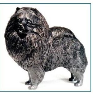 Keeshond Dog - Large Standing