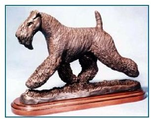 Kerry Blue Terrier Dog Large Moving Dannyquest Designs