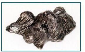 Lhasa Apso Dog - Pile -o- Pups